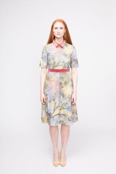 Платье Sigita (100% дикий шелк)