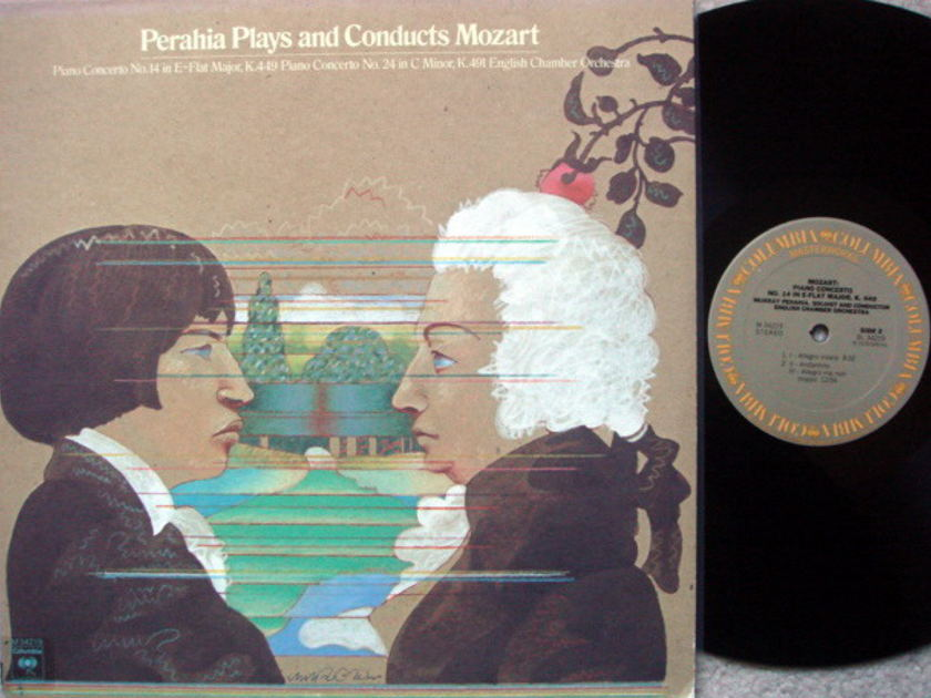Columbia / MURRAY PERAHIA, - Mozart Piano Concerto No.14 & 24, EX!