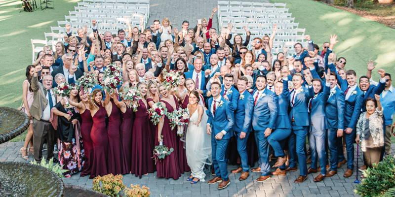 Southern Oasis Wedding