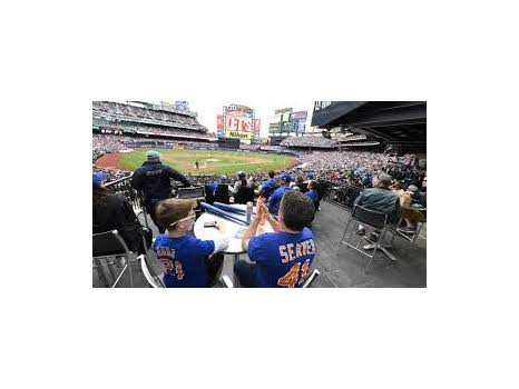 4 Delta Club tickets to a Mets Game in the 2019 season