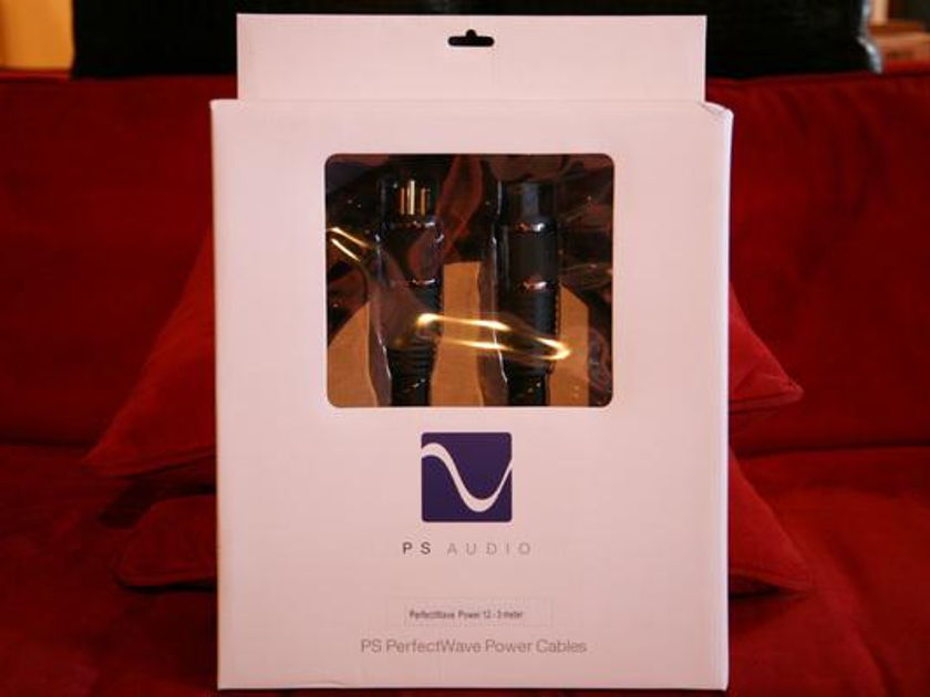 PS AUDIO Perfect Wave 12 3m AC Power Cord!!!