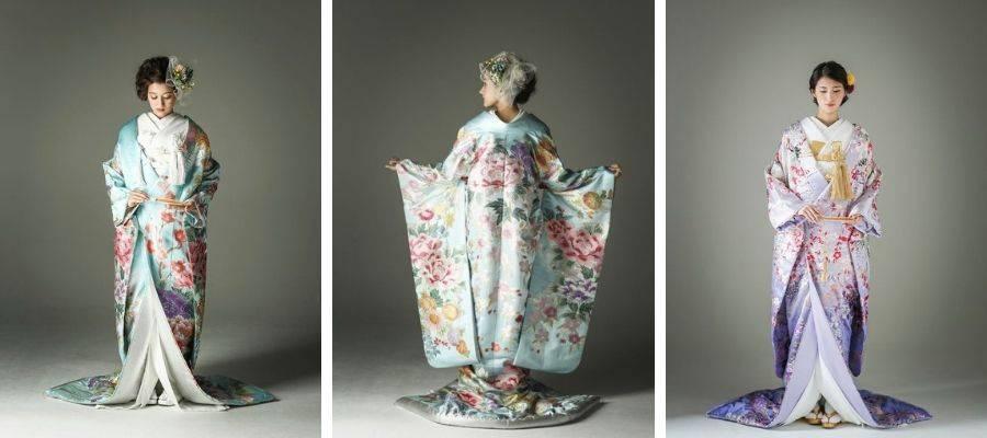 Hikifurisode Wedding Kimono