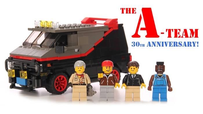 The A-Team LEGO Set