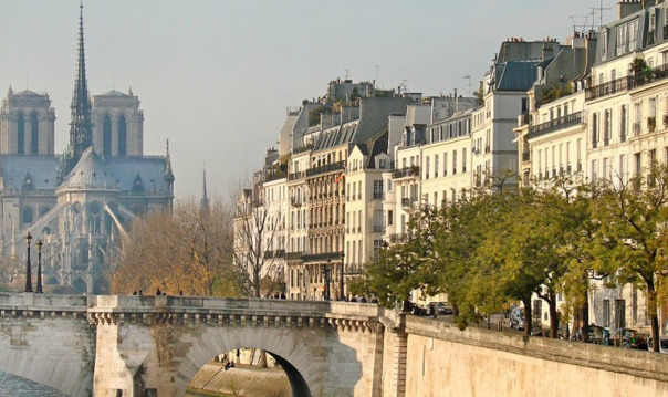 Парижские острова: Сите и Сен-Луи