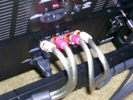 In house made 4 AWG ultra flexible speaker wire