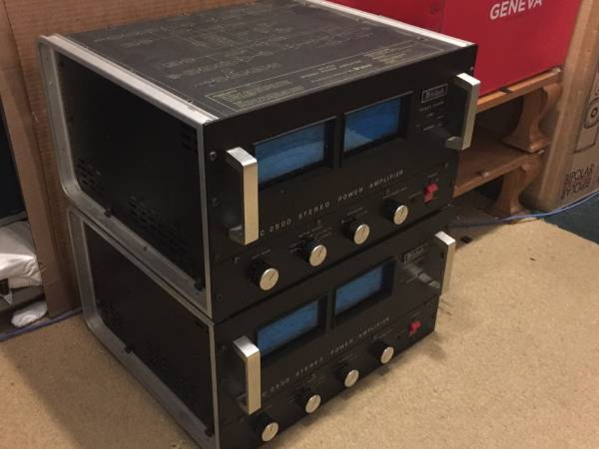 McIntosh MC2500 Power Amplifiers from auth McIntosh dealer
