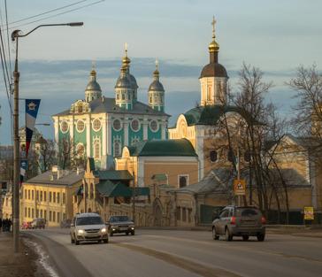 Смоленск - город древний, город вечно молодой