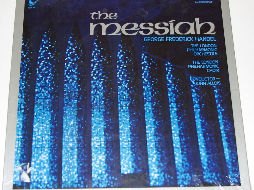 Handel - The Messiah 4-LP Vinyl Set Sealed