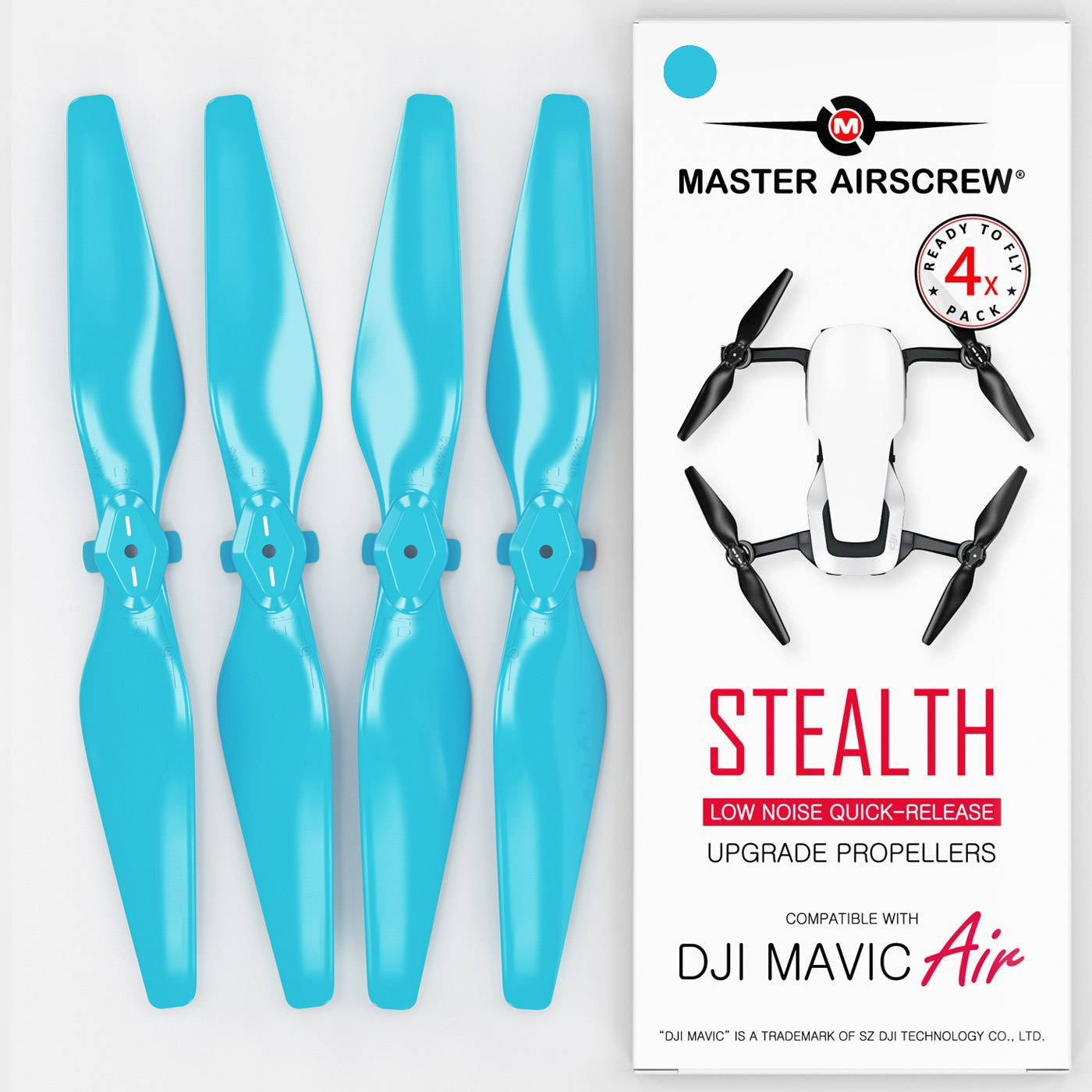 DJI Mavic Air Low-Noise STEALTH Upgrade Propellers V2 - x4