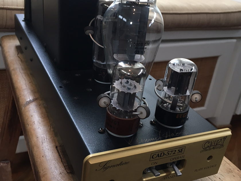 Cary Audio Design CAD-572/300 SE Monoblocks