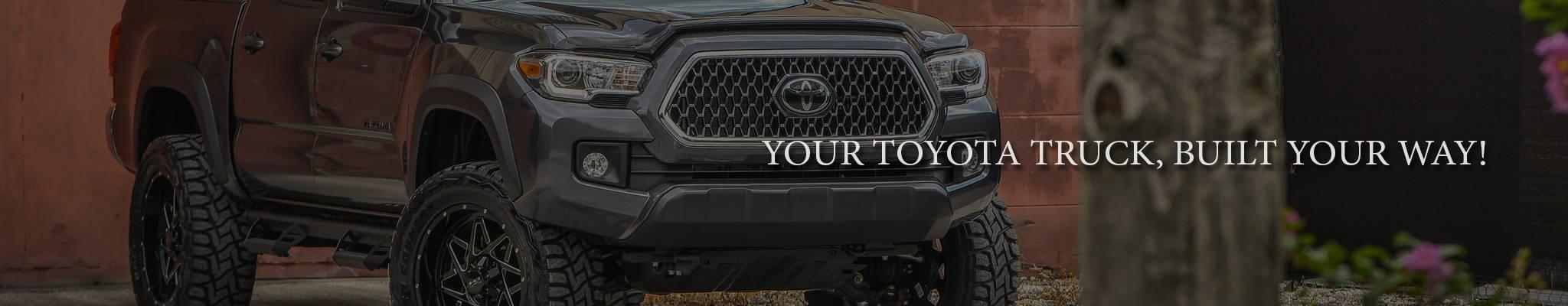 Customize your Toyota Tacoma & Tundra at 3C Trucks