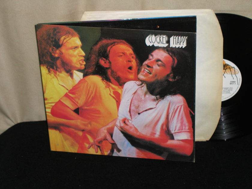 Joe Cocker - Cocker Happy UK Import (EMI pressing) HIFLY 3