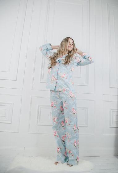 """Женская хлопковая пижама """"Цветы Тифани"""""""