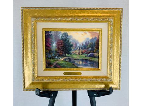 """Thomas Kinkade's """"Lakeside Manor"""""""