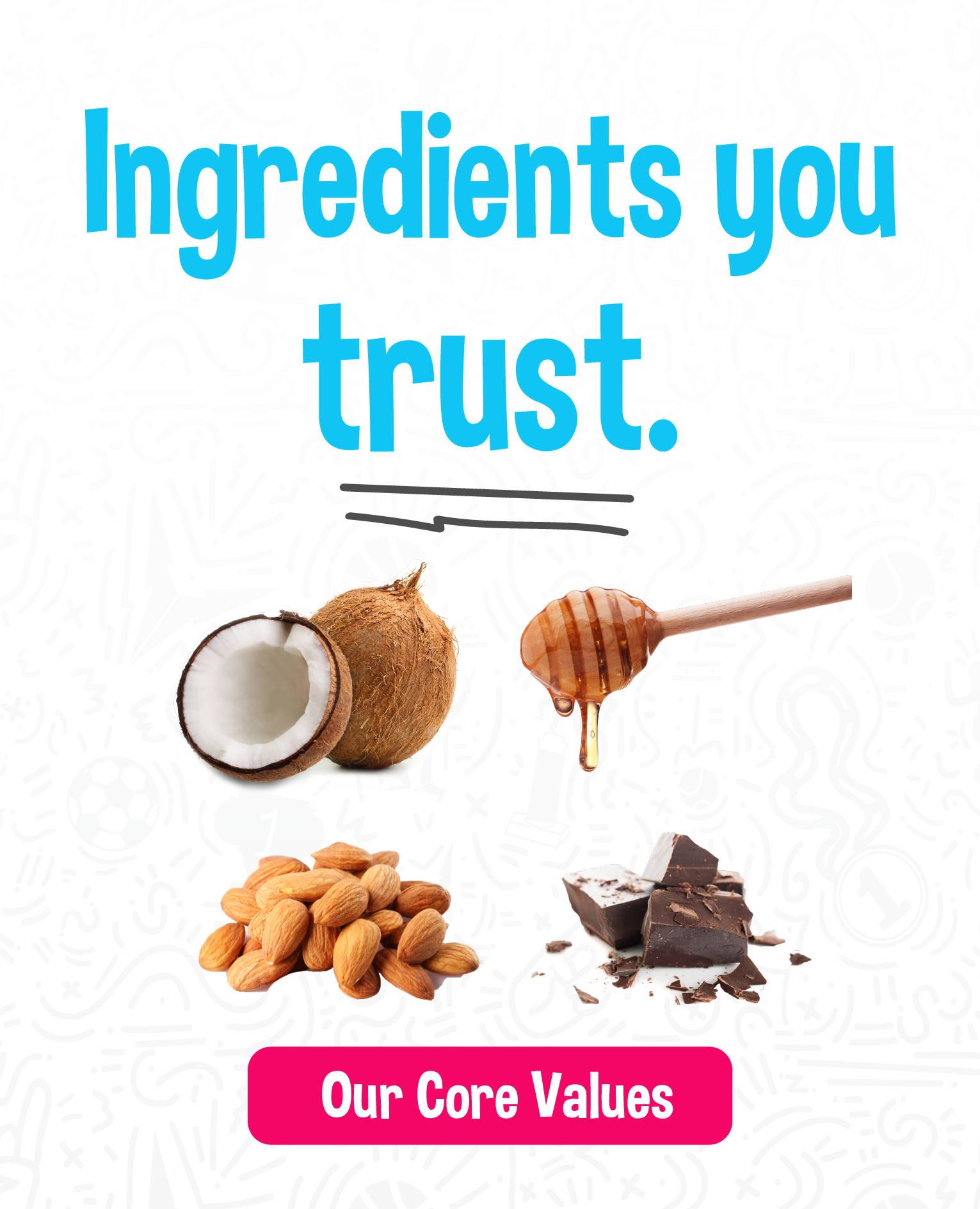 HEROFUEL- Ingredients you trust.