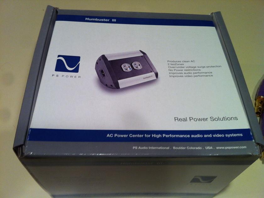 PS Audio  Humbuster III DC voltage blocker