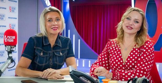 Мария Захарова и «Русское Радио» объявили о старте масштабного музыкального флешмоба - Новости радио OnAir.ru