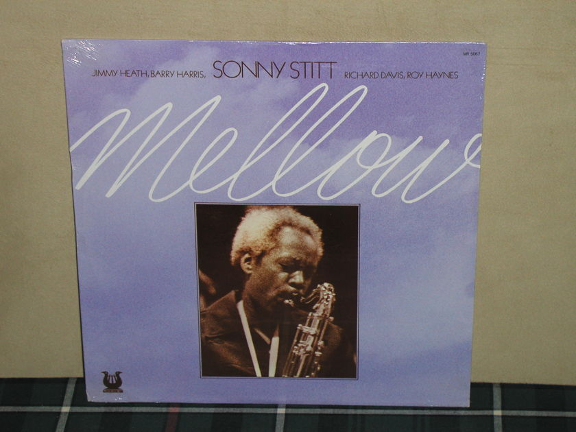 Sonny Stitt    MELLOW - Muse MR-5067 SEALED From the 70's!