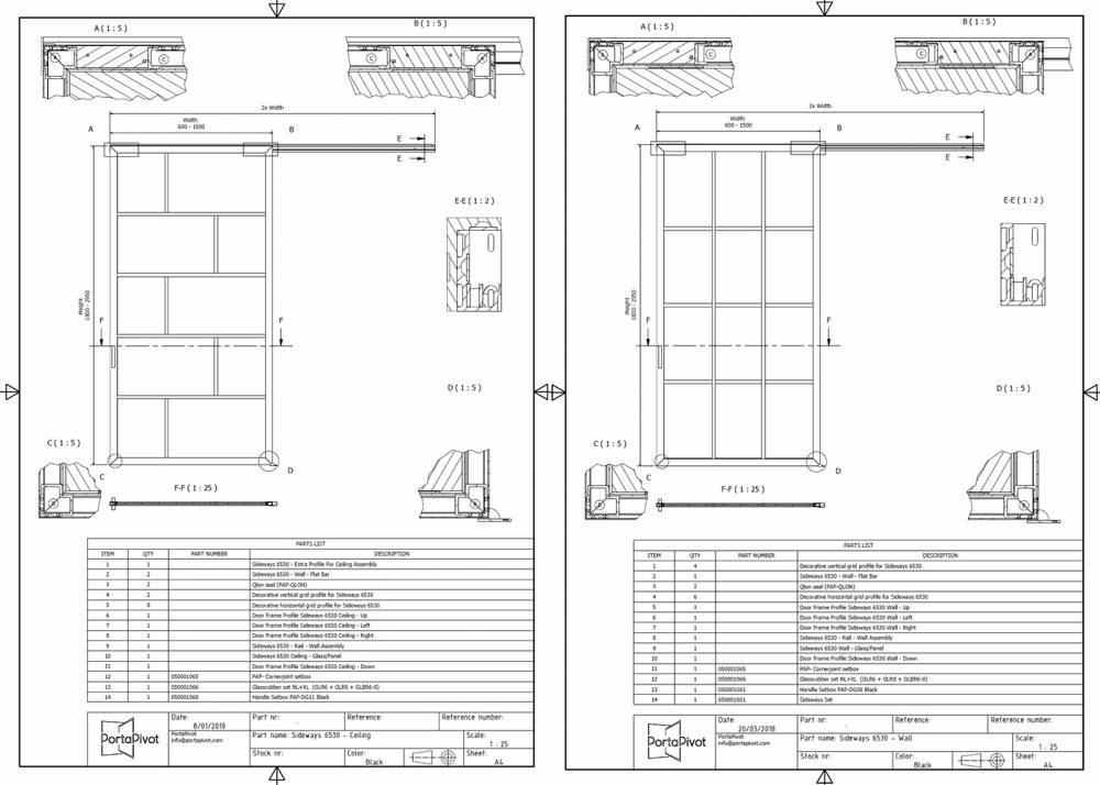 Slideways 6530 CAD files