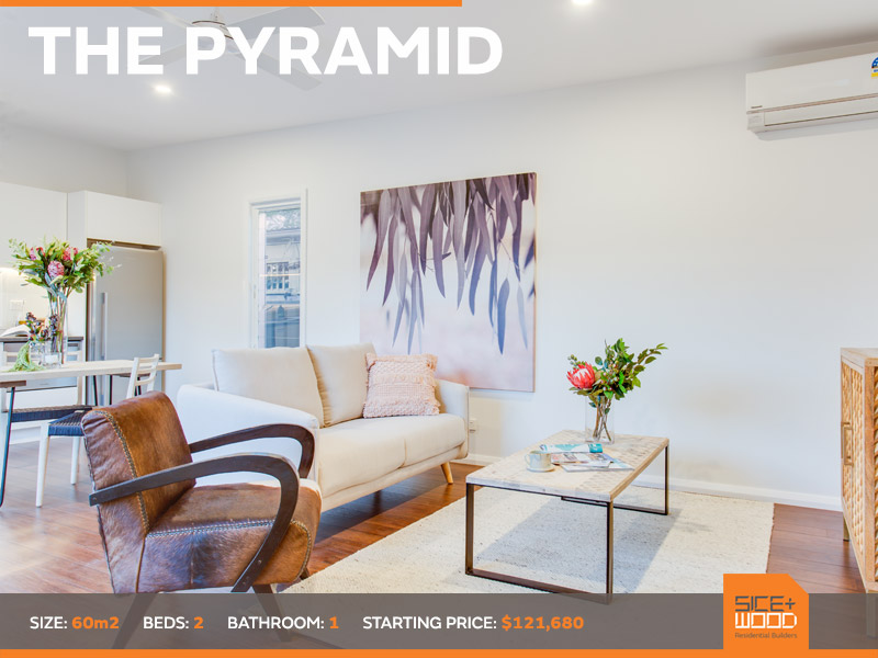 The Pyramid Granny Flat by Sicewood