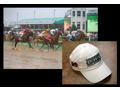"""Justify & Mike Smith Winning Kentucky Derby"" and Justify Hat"