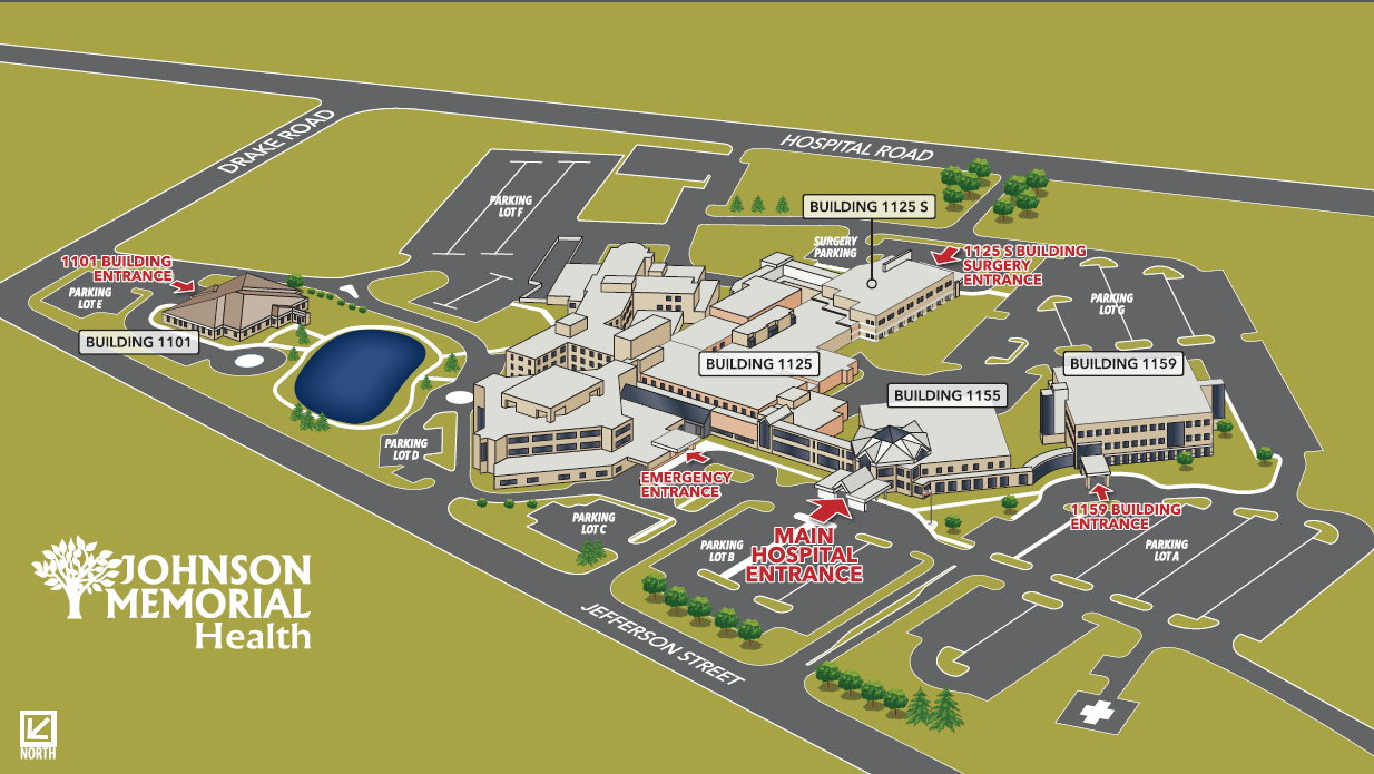 Johnson Memorial Health Campus Map