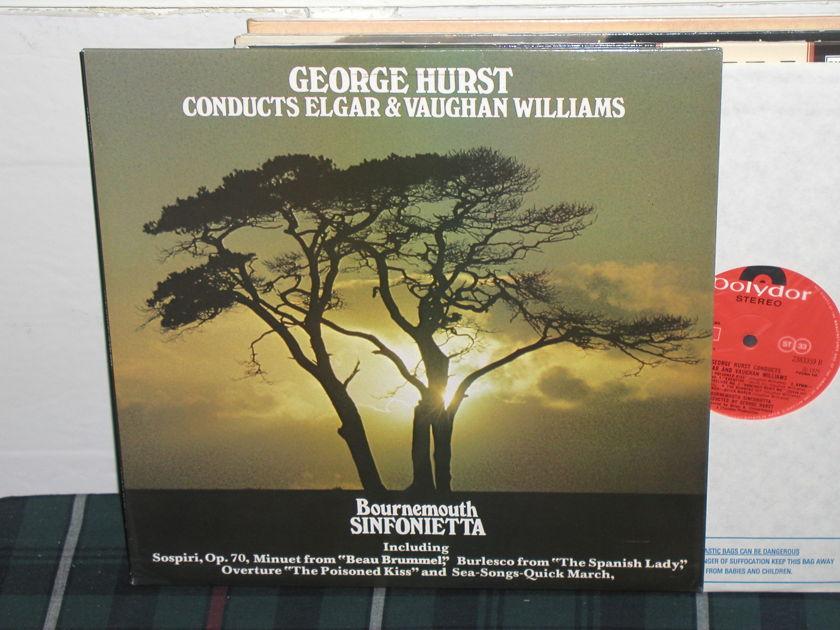 Hurst/Bournemouth SO - Elgar/Williams uk import  polydor super