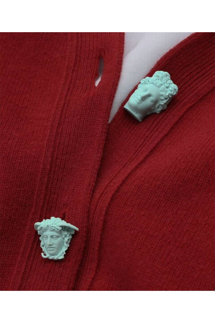 Hades greek head buttons