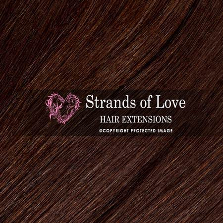 Strands Of Love Hair Extensions Colour Dark Chocolate Brown