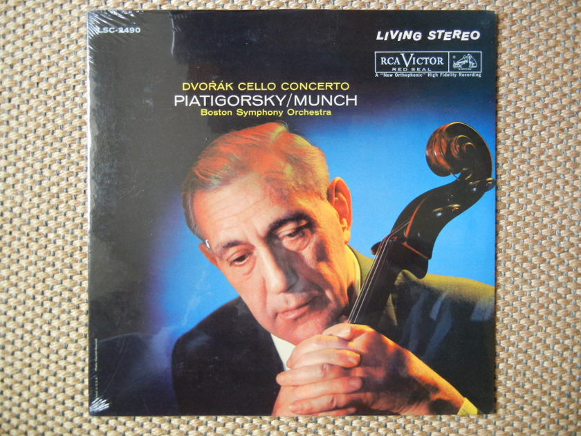 DVORAK/DVORAK CELLO CONCERTO/ - Piatigorsky/Munch/ SEALED LSC-2490 Living Stereo