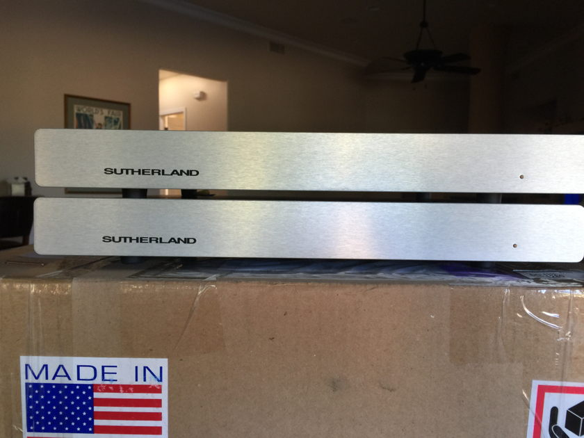 Sutherland Duo  2 Chassis Dual Mono Phono Preamp
