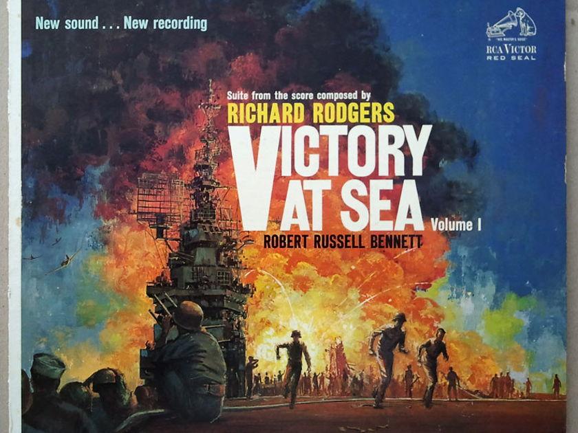 RCA White Dog | - VICTORY AT SEA - Vol. 1 / NM