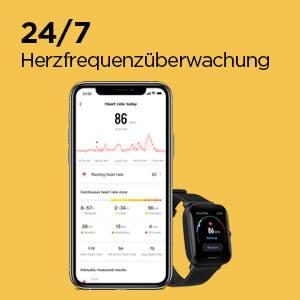 Amazfit Bip U Pro - 24/7 Herzfrequenzüberwachung