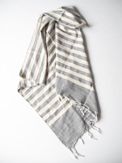 Полотенце из хлопка Grey Bold