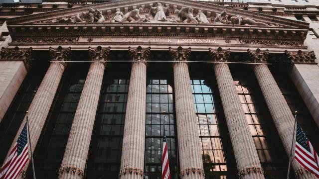 Et billede af børsen i New York