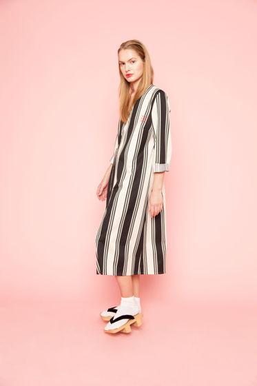 Платье-халат в полоску TSUGI TOKYO LINES