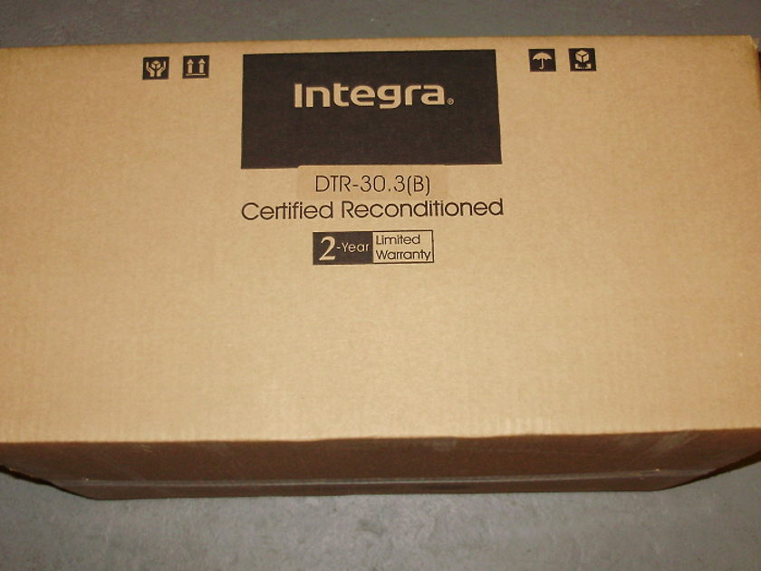 Integra  DTR-30.3 Certified B stock  THX® Select2 Plus™, 2-Zone  7.2-Channel Network AV Receiver