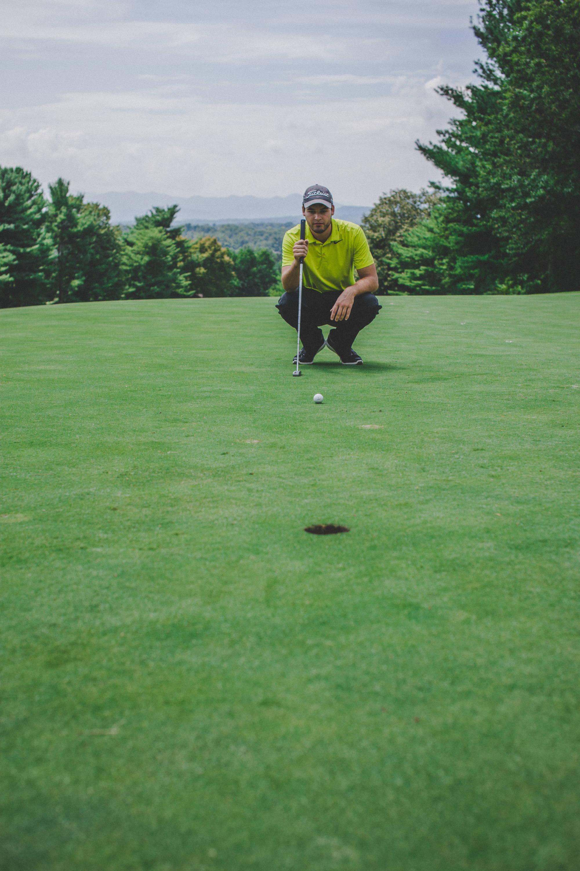 Golfing, Putting, PGA