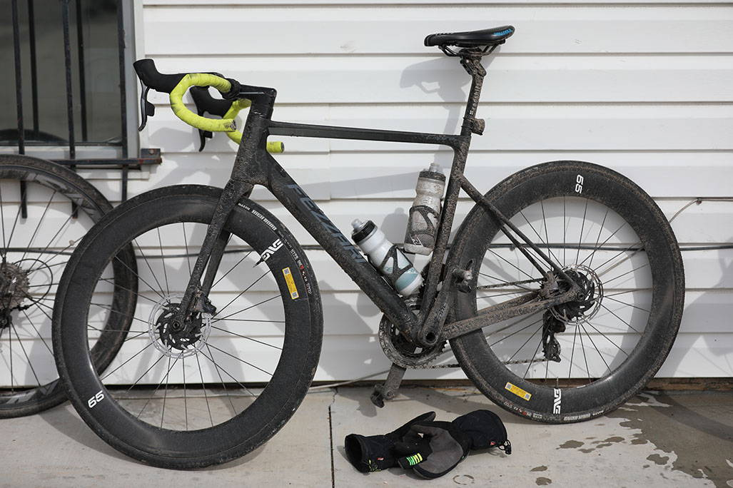 James Lawrences bike