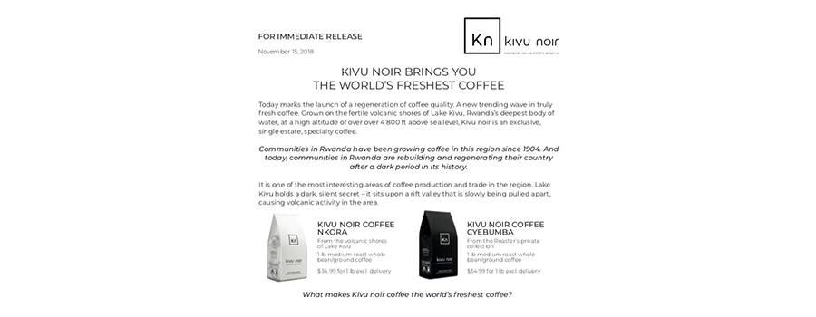 coffee-press-release