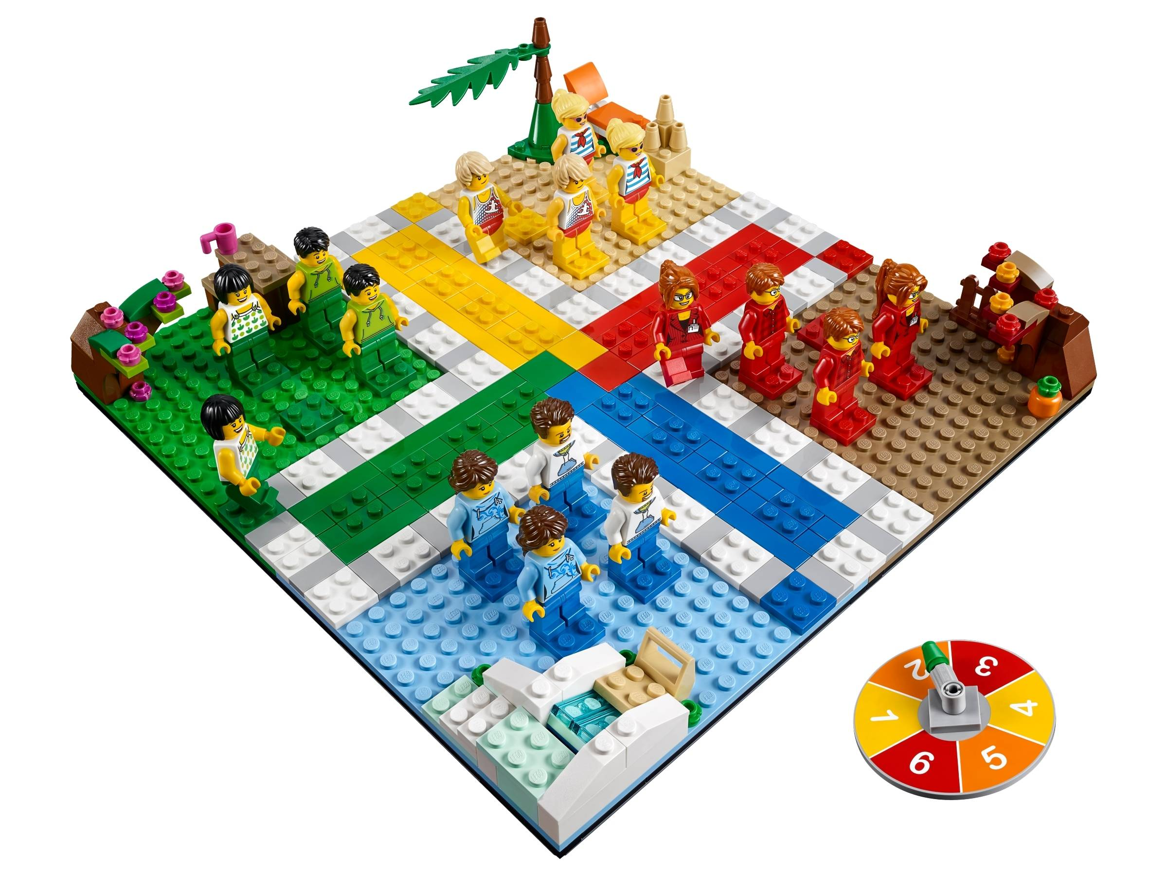 LEGO Ludo Board Game