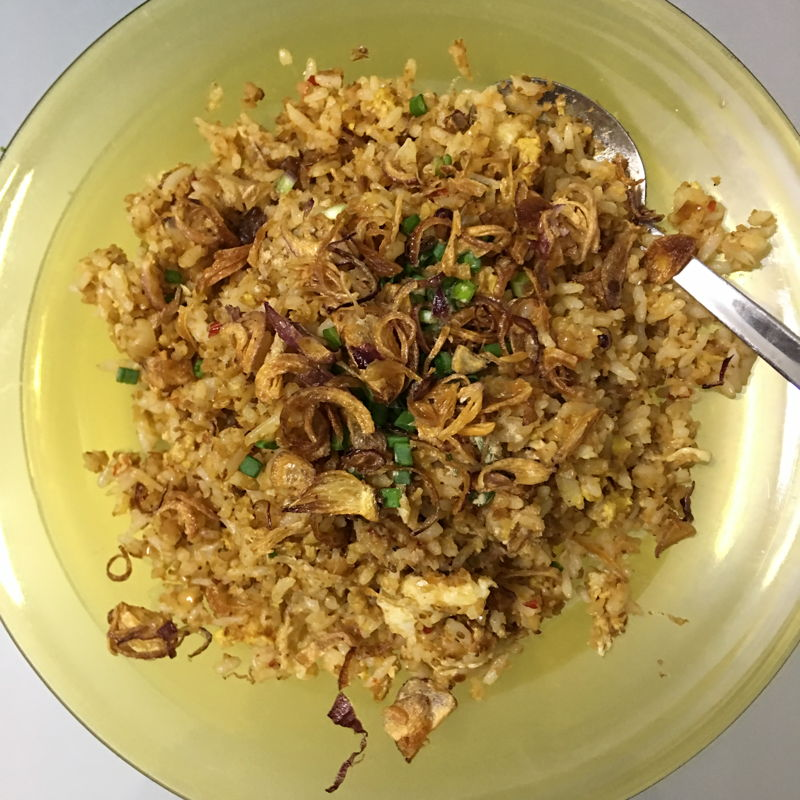 Nov 18th, 2019 -  I used my satay sauce to fried rice. It tastes superb delicious. Even best with fried shallots topping.  Yuuuuummm~