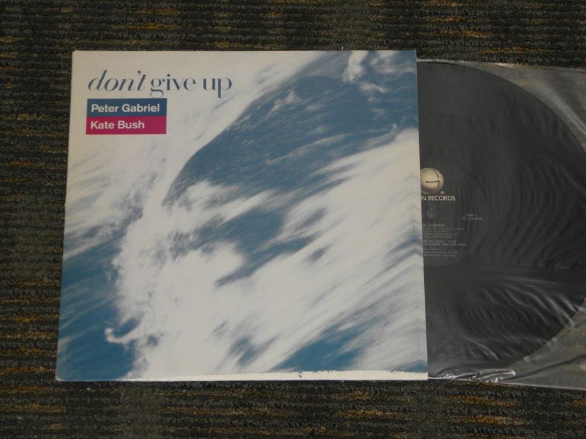 "Peter Gabriel/Kate Bush - ""Dont Give Up"" 2 versions Geffen PRO A -2689 12"" single"