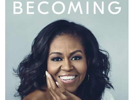 Signed Copy of Becoming by Michelle Obama