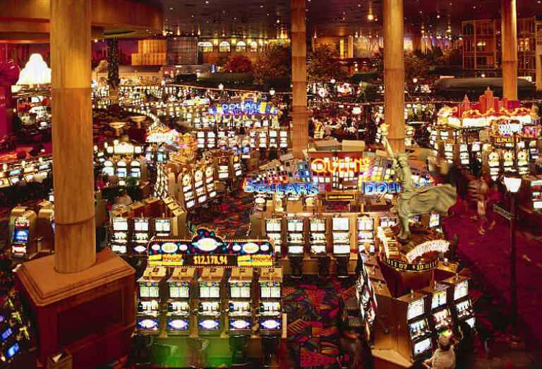 slot machines in vegas
