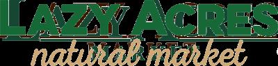lazy acres natural market logo