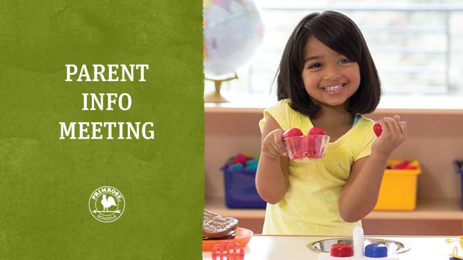 Parent Meeting Website Graphic