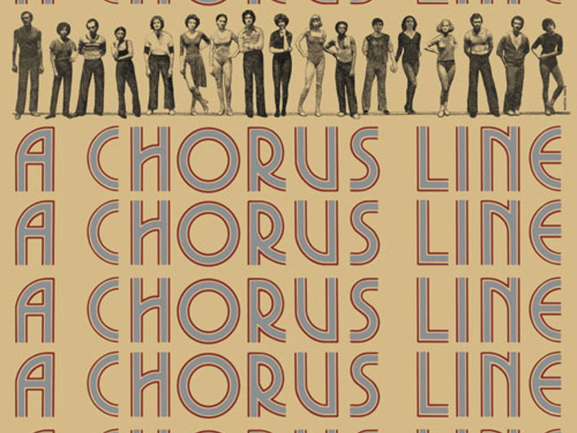 A Chorus Line  - Original Broadway Cast Recoding 40th Anniversary LP