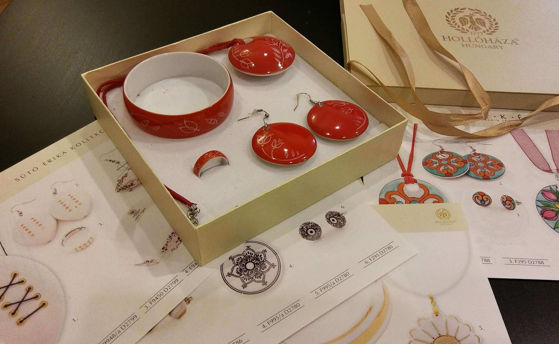Hollohaza Porcelain Jewelry Sets at 3 Barn Swallows