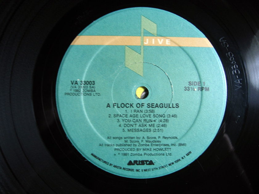 A Flock Of Seagulls  - A Flock Of Seagulls  - 1982  Jive VA 33003